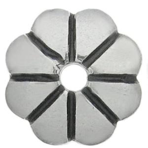 925-ös sterling ezüst gyöngykupak  1db/ csomag  EGYK 26, Gyöngy, ékszerkellék, Fém köztesek, Ékszerkészítés, Fém köztesek, EGYK 26\n\n925-ös fémjellel ellátott\nantikolt\nvalódi ezüst (bevizsgált)\ngyöngykupak.\n\n\n1 db / csomag\n\n..., Meska