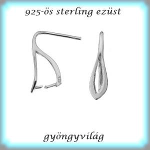 925-ös ezüst fülbevaló kapocs EFK B 30 - Meska.hu