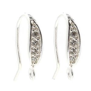 925-ös finomságú sterling  ezüst fülbevaló kapocs EFK A 45/1, Gyöngy, ékszerkellék, Egyéb alkatrész, Ékszerkészítés, Mindenmás, Szerelékek, EFK A 45/1\n---\n925-ös fémjellel ellátott valódi ezüst (bevizsgált) beakasztós fülbevalóalap .\n\n1 pár..., Meska