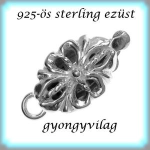 925-ös ezüst 1soros lánckapocs ELK 1S 33, Gyöngy, ékszerkellék, Egyéb alkatrész, Ékszerkészítés, Gyöngy,  ELK 1S 15 12x3,5 \n\n925-ös fémjellel ellátott valódi ezüst (bevizsgált) 1 soros lánckapocs.\n\nAz ár 1..., Meska