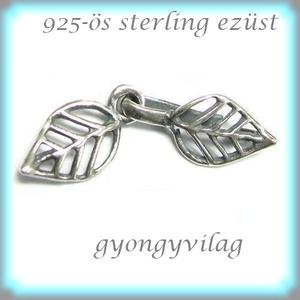 925-ös ezüst 1soros lánckapocs ELK 1S 36, Gyöngy, ékszerkellék, Egyéb alkatrész, Ékszerkészítés, Gyöngy,  ELK 1S 15 12x3,5 \n\n925-ös fémjellel ellátott valódi antikolt ezüst (bevizsgált) 1 soros lánckapocs...., Meska