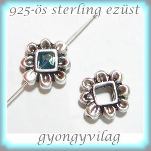 925-ös ezüst köztes / gyöngy / dísz EKÖ 69 - gyöngy, ékszerkellék - fém köztesek - Meska.hu
