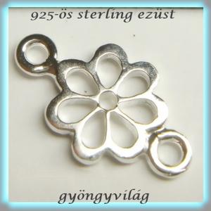 925-ös finomságú sterling ezüst kandeláber/ továbbépíthető köztes /tartó elem  EKA 45 - gyöngy, ékszerkellék - egyéb alkatrész - Meska.hu