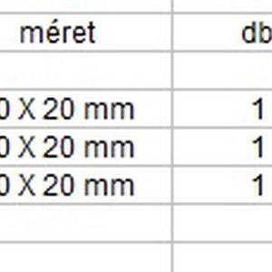 Ékszerkellék: Swarovski kereszt 20mm több színben - Meska.hu