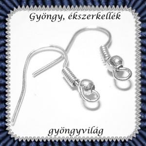 Akasztós fülbevaló alap 20 pár BFK-A02 ABEF - gyöngy, ékszerkellék - egyéb alkatrész - Meska.hu