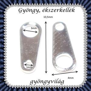 Ékszerkellék: lánckapocs BLK-V05 vég / láncvég 25 db  - gyöngy, ékszerkellék - egyéb alkatrész - Meska.hu