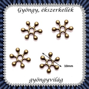 Ékszerkellék: köztes / díszítőelem / gyöngy BKÖ 1S 04-7b  20db/csomag  - gyöngy, ékszerkellék - fém köztesek - Meska.hu