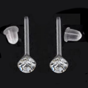 Swarovski köves szilikon fülbevaló több színben SFSZ-SW01, Ékszer, Fülbevaló, Ékszerkészítés, Gyöngyfűzés, gyöngyhímzés, Swarovski kristályból és szilikon fülbevalóalapból készült fülbevaló több színben, szilikon fülbeva..., Meska