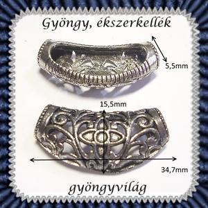 medál /  köztes / cső 1db/csomag BKÖ1-05 (gyongyvilag) - Meska.hu