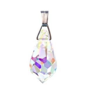 Swarovski kristály medál -15mm-es csepp több színben , Ékszer, Medál, Nyaklánc, Ékszerkészítés, Gyöngyfűzés, gyöngyhímzés, Meska