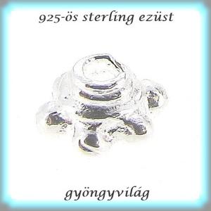 925-ös sterling ezüst gyöngykupak  1db/ csomag  EGYK 20 - Meska.hu