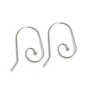 925-ös ezüst fülbevaló kapocs EFK A 53, Gyöngy, ékszerkellék, Egyéb alkatrész, Ékszerkészítés, Mindenmás, Szerelékek, EFK A 53 ---  925-ös fémjellel ellátott valódi ezüst (bevizsgált) beakasztós fülbevalóalap.  1 pár ..., Alkotók boltja