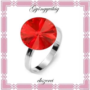925-ös sterling ezüst, bevizsgált gyűrű , Ékszer, Szoliter gyűrű, Gyűrű, Ékszerkészítés, Gyöngyfűzés, gyöngyhímzés, Meska