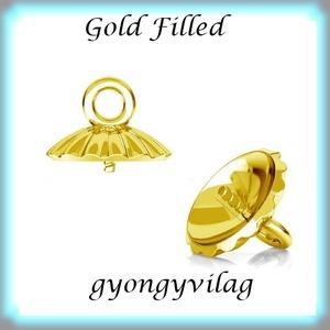 Gold Filled medálkapocs EMK 67 G  - Meska.hu