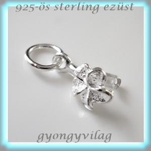 925-ös ezüst medálkapocs  EMK 16, Gyöngy, ékszerkellék, Egyéb alkatrész, Ékszerkészítés, Gyöngy, EMK 16\n925-ös fémjellel ellátott valódi ezüst (bevizsgált)medálkapocs.\n\nA méreteket a fotón láthatod..., Meska