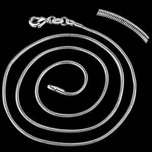 925-ös nyaklánc EÜL 02 56, Gyöngy, ékszerkellék, Egyéb alkatrész, Ékszerkészítés, Fűzőszál, 925-ös fémjellel ellátott nyaklánc.  A méretek a fotón láthatók.  A lánc hossza: 56 cm  Az ékszer 9..., Alkotók boltja