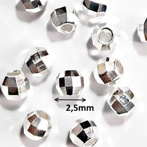 925-ös ezüst köztes/gyöngy/díszitőelem  EKÖ 15 2,5mm - gyöngy, ékszerkellék - fém köztesek - Meska.hu