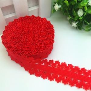 piros 2 cm-es elasztikus csipke  0,3 méter  CS04, Textil, Felvarrható kellék, Varrás, Szalag, Csipke, Piros 2 cm széles elasztikus csipke \n\nAz ár 0,3 méterre vonatkozik.\n\nAlkalmas ruha és kézimunka dísz..., Meska