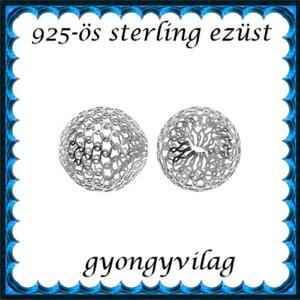 925-ös sterling ezüst ékszerkellék: köztes / gyöngy / dísz EKÖ 26-4 - gyöngy, ékszerkellék - fém köztesek - Meska.hu