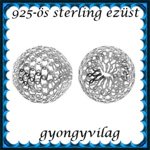 925-ös sterling ezüst ékszerkellék: köztes / gyöngy / dísz EKÖ 26-7, Gyöngy, ékszerkellék, Fém köztesek, Ékszerkészítés, Mindenmás, Szerelékek, EKÖ 26-7\n \n925-ös valódi  ezüst (bevizsgált) köztes / gyöngy / díszitőelem .\n\n\n\n1 db / csomag\n\nEzt a..., Meska