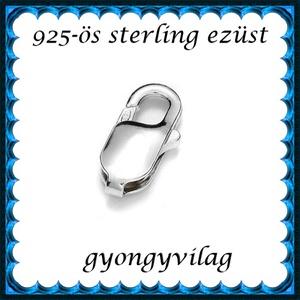 925-ös ezüst 1soros lánckapocs ELK 1s 37-8 - gyöngy, ékszerkellék - egyéb alkatrész - Meska.hu