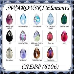 Ékszerkellék: Swarovski csepp 22 mm-es több színben , Gyöngy, ékszerkellék, Swarovski kristályok, Ékszerkészítés, Gyöngy, SWAROVSKI KRISTÁLY CSEPP MEDÁL, TÖBB SZÍNBEN !\n\nMéret:22 mm\n\nAz ár egy darabra vonatkozik!\n\nA színtá..., Meska