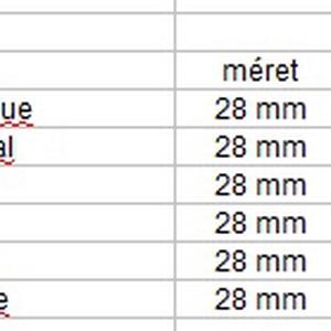 Ékszerkellék: Swarovski csepp 28 mm-es több színben  SW6106-28 - Meska.hu