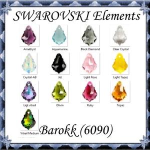 Ékszerkellék: Swarovski barokk 16mm-es  több színben , Gyöngy, ékszerkellék, Swarovski kristályok, Ékszerkészítés, Gyöngy, SWAROVSKI KRISTÁLY BAROKK, TÖBB SZÍNBEN !\n\n\n\nMéret:16mm\n\nAz ár egy darabra vonatkozik!\n\nA színtábláz..., Meska