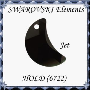 Ékszerkellék: Swarovski hold 20mm-es  , Gyöngy, ékszerkellék, Swarovski kristályok, Ékszerkészítés, Gyöngy, SWAROVSKI KRISTÁLY HOLD !\n\n\n\nMéret:20mm\n\nAz ár egy darabra vonatkozik!\n\nA színtáblázatot az első, a ..., Meska