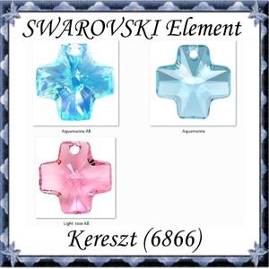 Ékszerkellék: Swarovski kereszt 20mm több színben, Gyöngy, ékszerkellék, Swarovski kristályok, Ékszerkészítés, Gyöngy, SWAROVSKI KRISTÁLY KERESZT MEDÁL, TÖBB SZÍNBEN !\n\nMéret:20mm\n\nAz ár egy darabra vonatkozik!\n\nA színt..., Meska
