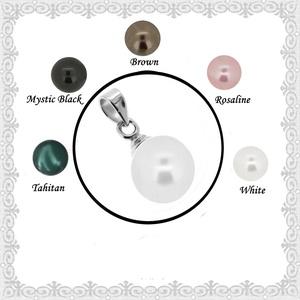 925-ös sterling ezüst medál Swarovski félig fúrt gömb 12mm több színben SME-SW02-12, Ékszer, Medál, Nyaklánc, Ékszerkészítés, Gyöngyfűzés, gyöngyhímzés, Meska
