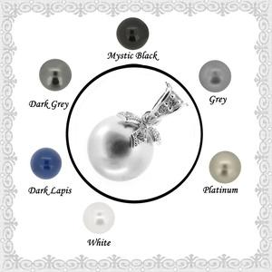 925-ös sterling ezüst medál Swarovski félig fúrt gömb 10mm több színben SME-SW01-3, Ékszer, Medál, Nyaklánc, Ékszerkészítés, Gyöngyfűzés, gyöngyhímzés, Meska