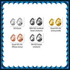 925-ös sterling ezüst ékszerkellék: fülbevalóalap bedugós EFK B 44 - gyöngy, ékszerkellék - egyéb alkatrész - Meska.hu