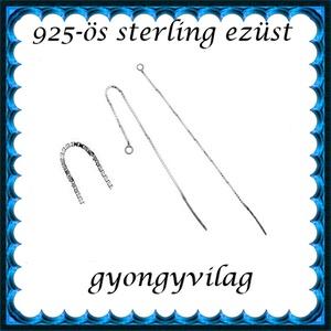 925-ös ezüst fülbevaló kapocs , füllánc EFK BFL 02-107e - Meska.hu