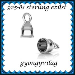 925-ös ezüst  lánckapocsvég  ELK V 16-4, Gyöngy, ékszerkellék, Egyéb alkatrész, Ékszerkészítés, Gyöngy, ELK V 16-4\n\n925-ös fémjellel ellátott valódi ezüst (bevizsgált) lánckapocs vég medálhuz, ezüsthuzalh..., Meska