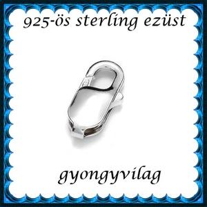 925-ös ezüst 1soros lánckapocs ELK 1s 37-9, Gyöngy, ékszerkellék, Egyéb alkatrész, Ékszerkészítés, Gyöngy, ELK 37-9\n\n925-ös fémjellel ellátott valódi ezüst (bevizsgált) 1 soros lánckapocs.\n\nAz ár 1 db-ra von..., Meska