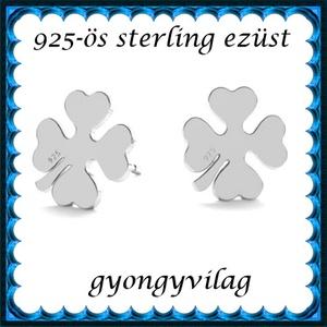 925-ös sterling ezüst: fülbevaló  EF 10e, Ékszer, Pötty fülbevaló, Fülbevaló, Ékszerkészítés, Gyöngyfűzés, gyöngyhímzés, Meska