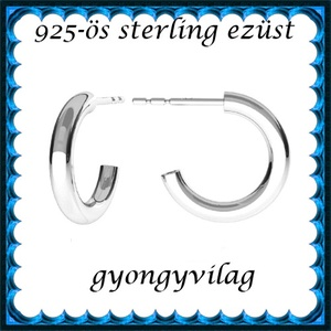 925-ös sterling ezüst: fülbevaló  EF 13, Ékszer, Lógó fülbevaló, Fülbevaló, Ékszerkészítés, Gyöngyfűzés, gyöngyhímzés, Meska