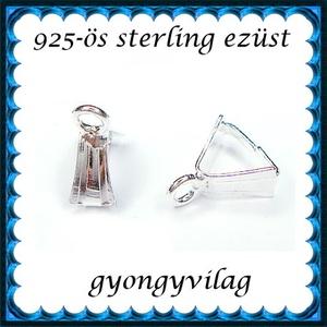 925-ös ezüst medálkapocs EMK 101 - Meska.hu