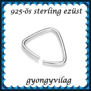 925-ös ezüst medálkapocs  EMK 102-0,7e - Meska.hu