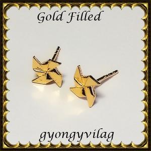 925-ös sterling ezüst: fülbevaló  EF 14 gold, Ékszer, Pötty fülbevaló, Fülbevaló, Ékszerkészítés, Gyöngyfűzés, gyöngyhímzés, Meska