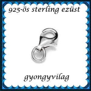 925-ös sterling ezüst ékszerkellék: lánckalocs ELK 1S 19-8e - Meska.hu
