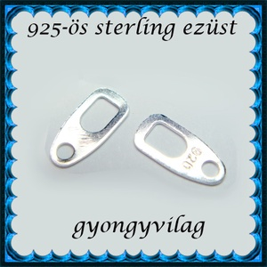 925-ös ezüst kapocs vég ELK KV 05 - gyöngy, ékszerkellék - egyéb alkatrész - Meska.hu