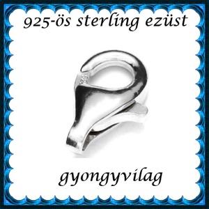 925-ös ezüst 1soros lánckapocs ELK 1s 39-11 - Meska.hu