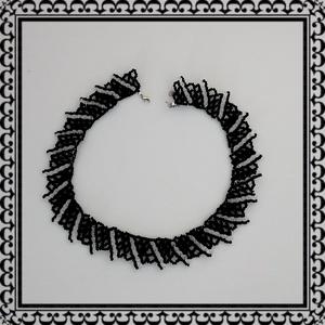 Gyöngyből fűzött  nyaklánc SL-GY08-1 - ékszer - nyaklánc - gyöngyös nyaklác - Meska.hu