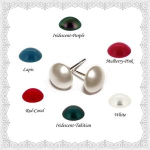 925-ös sterling ezüst fülbevaló Swarovski félig fúrt gömb 6mm több színben SFE-SW06-6, Ékszer, Pötty fülbevaló, Fülbevaló, Ékszerkészítés, Gyöngyfűzés, gyöngyhímzés, Meska