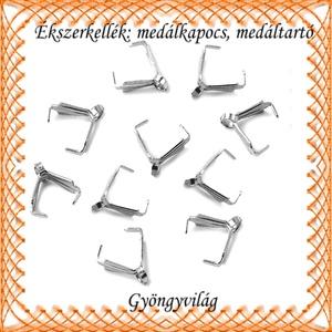 Ékszerkellék: medálkapocs BMK 04-10-1e 10db/csomag - Meska.hu