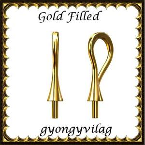 925-ös ezüst medálkapocs  EMK 109g, Gyöngy, ékszerkellék, Egyéb alkatrész, Ékszerkészítés, Gyöngy, EMK 102-0,6e  925-ös  valódi ezüst, két rétegű, 24 karátos arany bevonattal ellátott (bevizsgált)me..., Alkotók boltja
