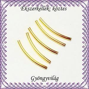 Ékszerkellék: köztes / díszítőelem / gyöngy BKÖ 1S 30-25x2a 8db/csomag - gyöngy, ékszerkellék - fém köztesek - Meska.hu