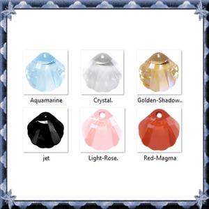 Ékszerkellék: Swarovski kagyló 16mm-es  több színben  - gyöngy, ékszerkellék - swarovski kristályok - Meska.hu